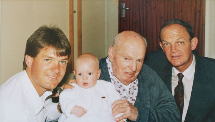 1994 Four generations of Rossouws